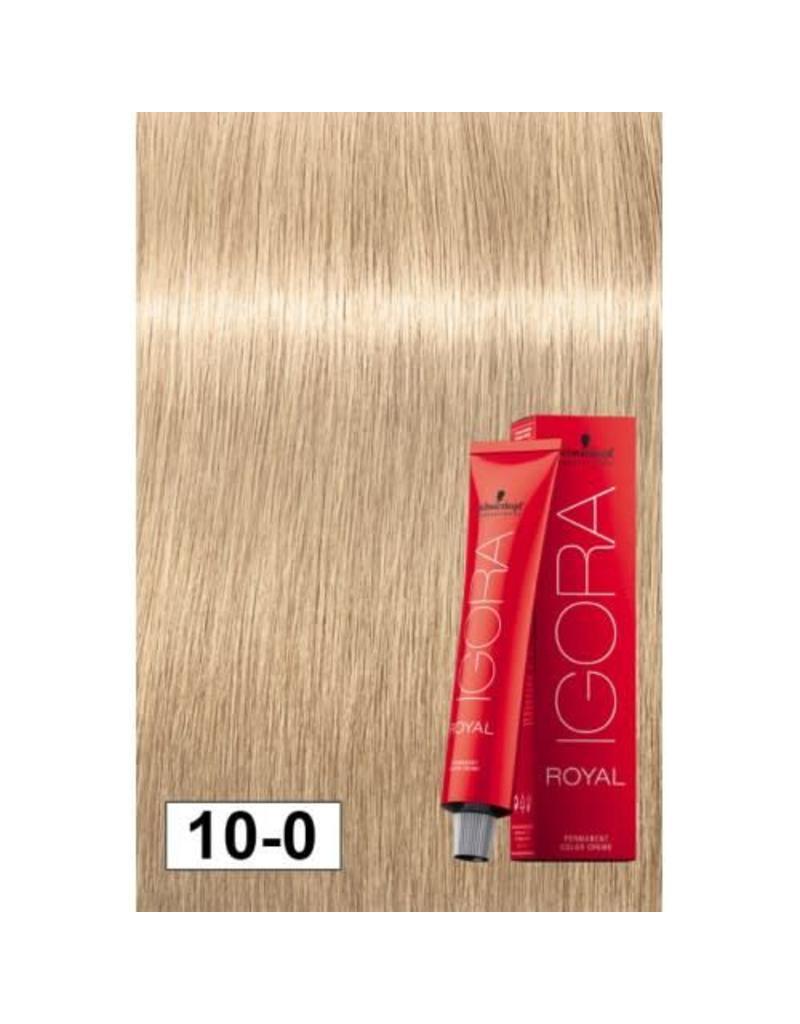 Schwarzkopf #10-0 Ultra Blonde Neutral - Royal IGORA