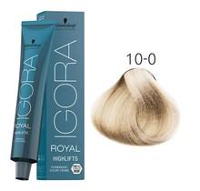 #10-0 Ultra Blonde Neutral - Royal Highlifts IGORA Schwarzkopf Permanent Color Creme