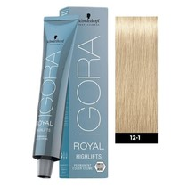 #12-1 Special Blonde Cendre - Royal Highlifts IGORA Schwarzkopf Permanent Color Creme