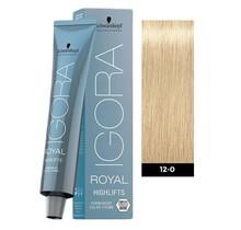#12-0 Special Blonde Natural - Royal Highlifts IGORA Schwarzkopf Permanent Color Creme