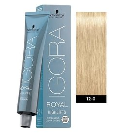 Schwarzkopf #12-0 Special Blonde Natural - Royal Highlifts IGORA Schwarzkopf Permanent Color Creme