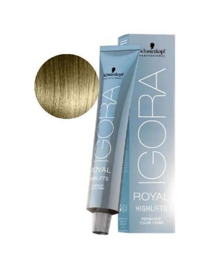Schwarzkopf #10-1 Ultra Blonde Cendre - Royal Highlifts IGORA Schwarzkopf Permanent Color Creme