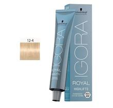 #12-4 Special Blonde Beige - Royal Highlifts IGORA Schwarzkopf Permanent Color Creme