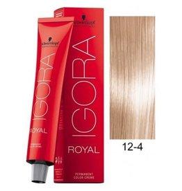 Schwarzkopf #12-4 Special Blonde Beige - Royal IGORA Schwarzkopf Permanent Color Creme
