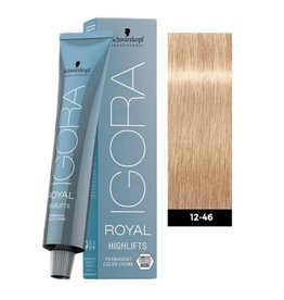 Schwarzkopf #12-46 Special Blonde Beige Chocolate - Royal Highlifts IGORA Schwarzkopf Permanent Color Creme