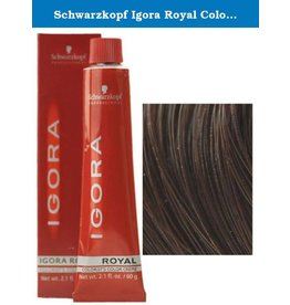 Schwarzkopf #3-68 Dark Brown Chocolate Red - Royal IGORA Schwarzkopf Permanent Color Creme