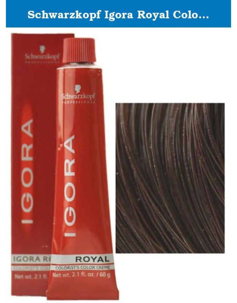 Schwarzkopf #3-68 Dark Brown Chocolate Red - Royal IGORA Schwarzkopf Permanent Color Creme