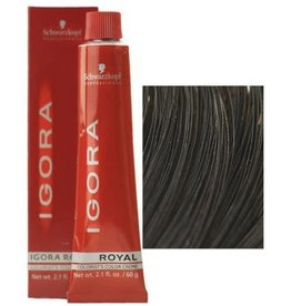 Schwarzkopf #4-0 Medium Brown - Royal IGORA