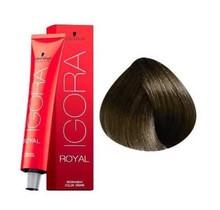#5-1 Light Brown Cendre 60g - Royal IGORA Schwarzkopf Permanent Color Creme