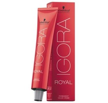 #7-65 Medium Blonde Chocolate Gold 60g - Royal IGORA Schwarzkopf Permanent Color Creme
