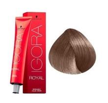 #8-00 Light Blonde Natural Extra 60g - Royal IGORA Schwarzkopf Permanent Color Creme