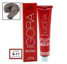 #8-11 Light Brown Centre Extra - Royal IGORA Schwarzkopf Permanent Color Creme