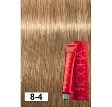 #8-4 Light Blonde Beige - Royal IGORA Schwarzkopf Permanent Color Creme