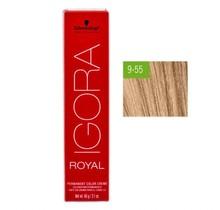 #9-55 Extra Light Blonde Gold Extra - Royal IGORA Schwarzkopf Permanent Color Creme