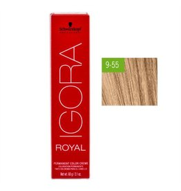 Schwarzkopf #9-55 Extra Light Blonde Gold Extra - Royal IGORA Schwarzkopf Permanent Color Creme