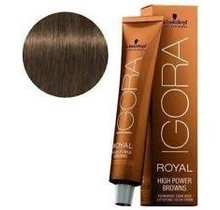 #B-33 Brown Petrol 60g - Royal High Power Browns IGORA Schwarzkopf Permanent Color Creme