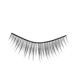 #01 Hami Eyelashes - Black strip 10 pairs Professional Fashion Lashes
