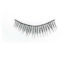 #08 Hami Eyelashes - Black strip 10 pairs Professional Fashion Lashes