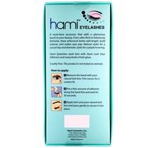 #53 Hami Eyelashes - Black strip 10 pairs Professional Fashion Lashes