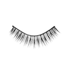 #02 Hami Eyelashes - Black strip 10 pairs Professional Fashion Lashes