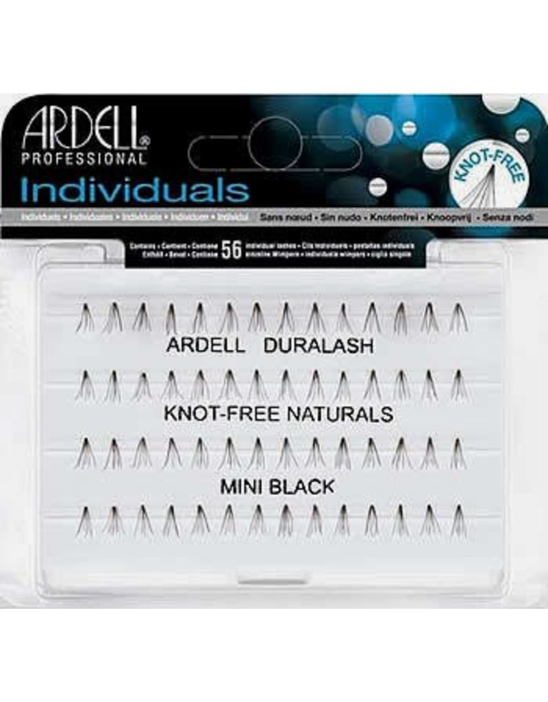 Ardell Ardell Professional Individuals Duralash Knot-Free Naturals - Mini Black