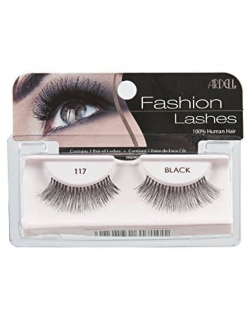 Ardell Ardell Fashion Lashes #117 Black 100% Human Hair