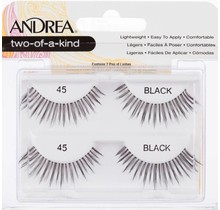 Andrea two-of-a-kind Lash #45 Black