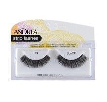 Andrea strip lashes #33 Black