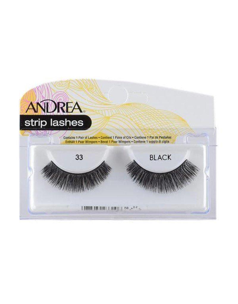 Andrea strip lashes #33 Black
