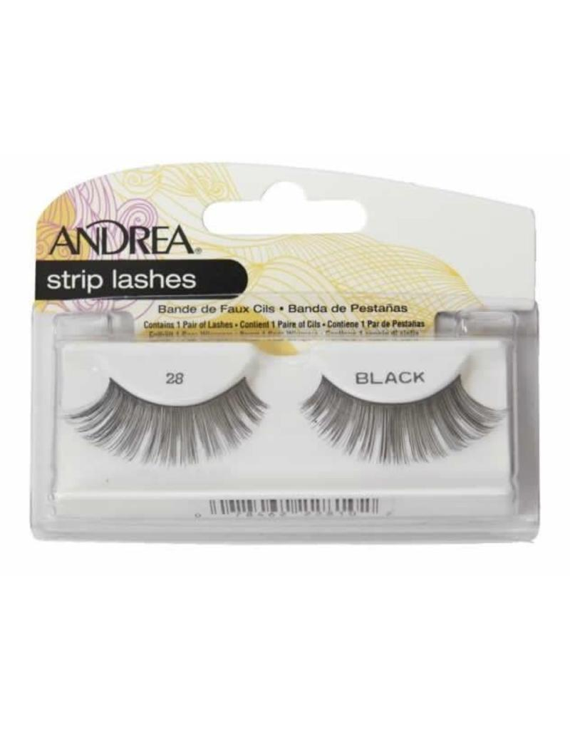 Andrea strip lashes #28 Black
