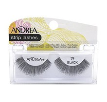 Andrea strip lashes #39 Black