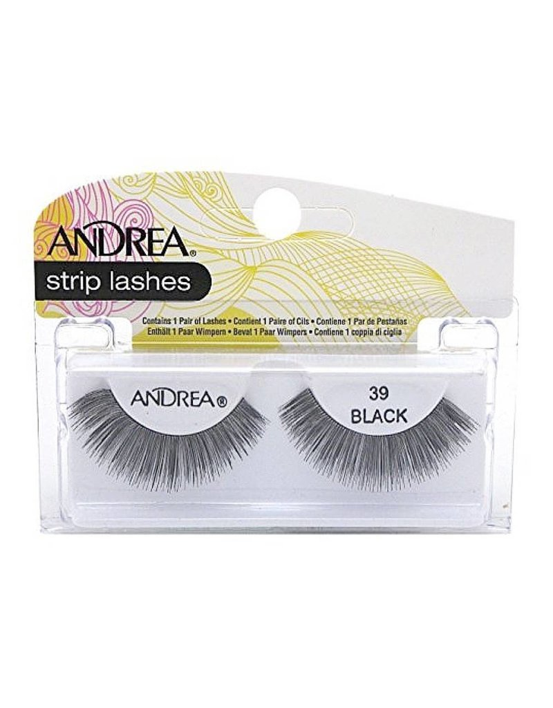 Andrea strip lashes #39 Black