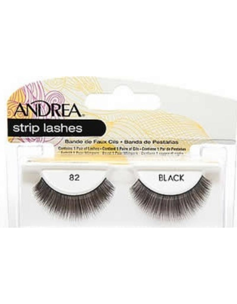 Andrea strip lashes #82 Black