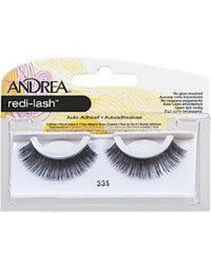 Andrea redi-lashes #33S Black Autoadhesive (no glue required)