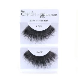 Créme Eyelash C#102 Black 100% Human Hair