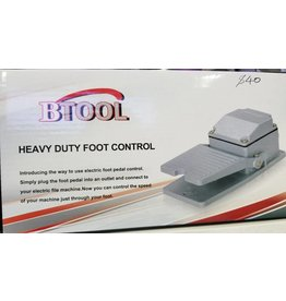 Btool Heavy Duty Foot Control - Model FP01 (110V, Frequency 50/60Hz, Size 18x11x6cm)
