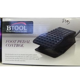 Btool  Foot Pedal Control - Model FP01 (110V, Frequency 50/60Hz, Size 18x11x6cm)