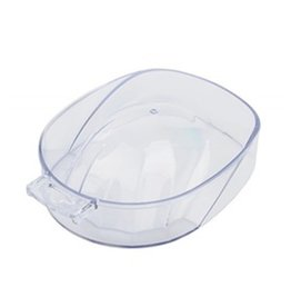 Manicure bowl - clear plastic