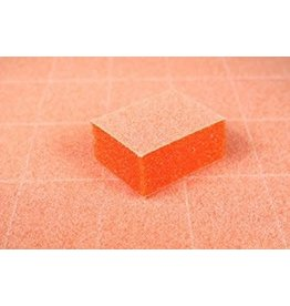 Mini Nail Buffer - Orange