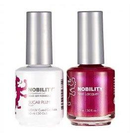 Nobility NBCS017 Sugar Plum frost - Nobility Duo Gel + Lacquer