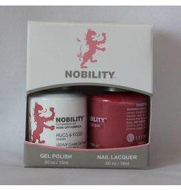Nobility NBCS152 Hugs & Kisses - Nobility Duo Gel + Lacquer