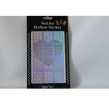 JV216 Silver (304) Nail Sticker