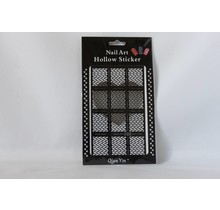 JV212 Black (305) Nail Sticker
