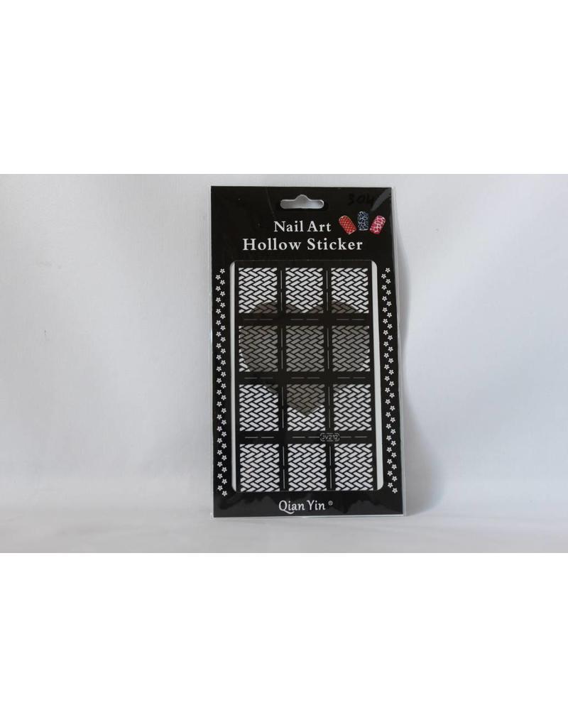 JV212 Black (305) Nail Sticker 4.99