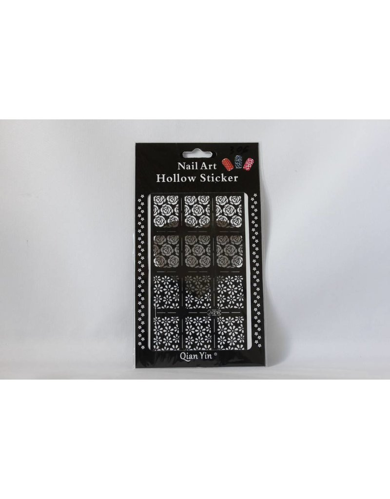 JV218 Black (307) Nail Sticker 4.99