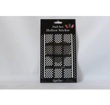 JV202 Black (312) Nail Sticker