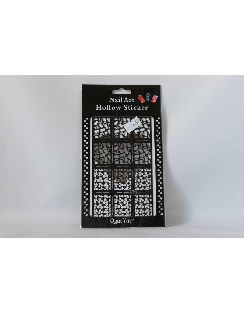 JV213 Black (318) Nail Sticker 4.99