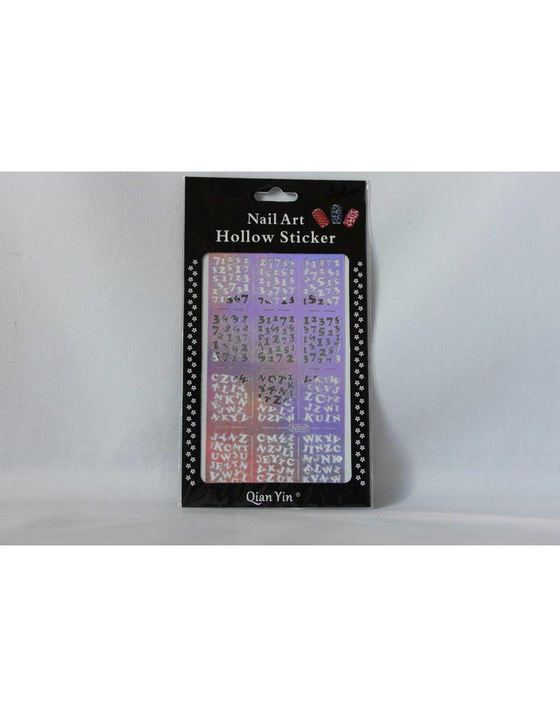 JV217 Silver (320) Nail Sticker 4.99