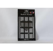 JV207 Black (323) Nail Sticker