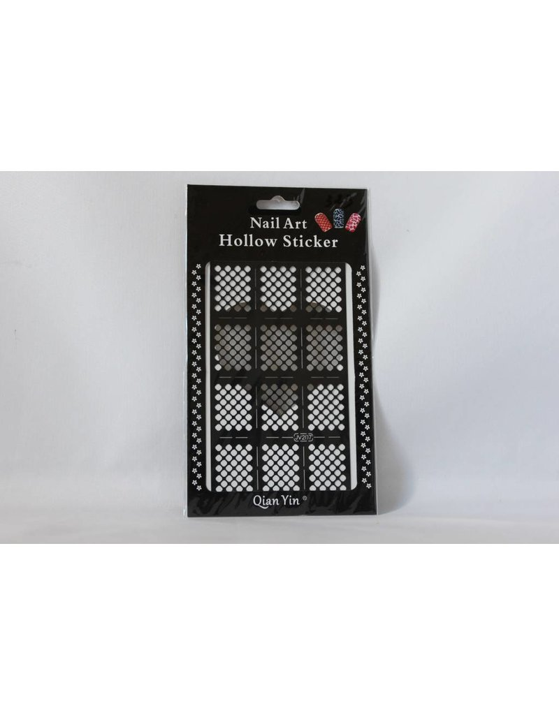 JV207 Black (323) Nail Sticker 4.99